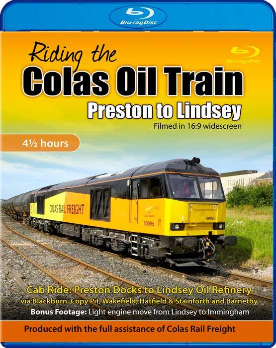 Riding the Colas Oil Train - Preston to Lindsey - Blu-ray