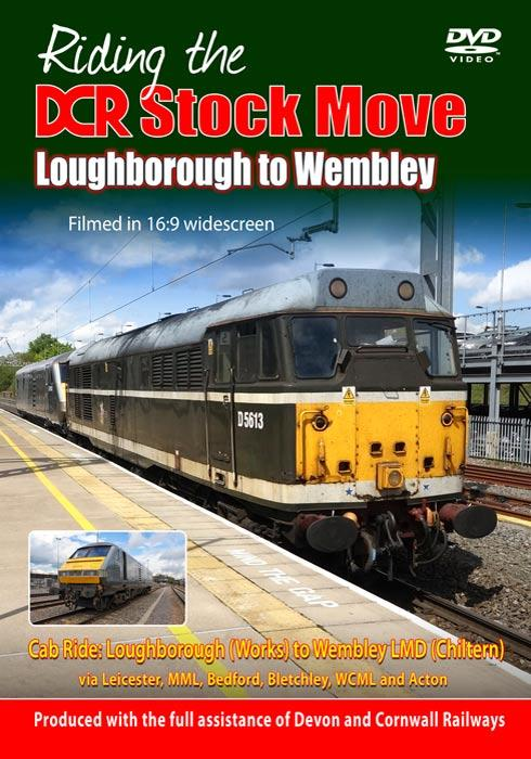 Riding the DCR Stock Move Loughborough to Wembley