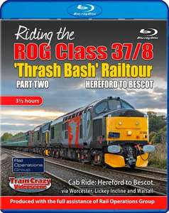 Riding the ROG Class 37-8 Thrash Bash Railtour - Part Two - Hereford to Bescot - Blu-ray