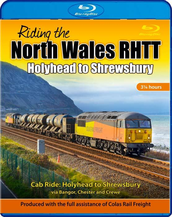 Riding the North Wales RHTT - Holyhead to Shrewsbury - Blu-Ray