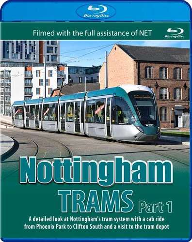 Nottingham Trams - Part 1 - Blu-ray
