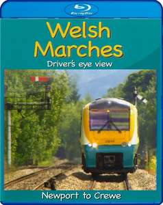 Welsh Marches - Newport to Crewe. Blu-ray