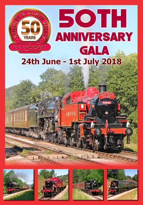 Keighley & Worth Valley Railway 50th Anniversary Gala DVD