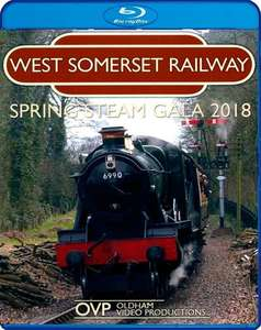 West Somerset Railway Spring Steam Gala 2018 - Blu-ray