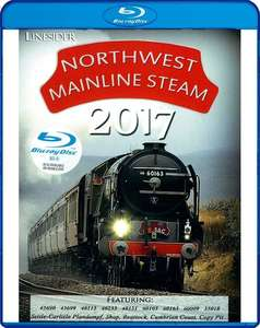 Northwest Mainline Steam 2017 - Blu-ray