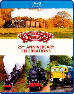 Churnet Valley Railway 25th Anniversary Celebrations - Blu-ray