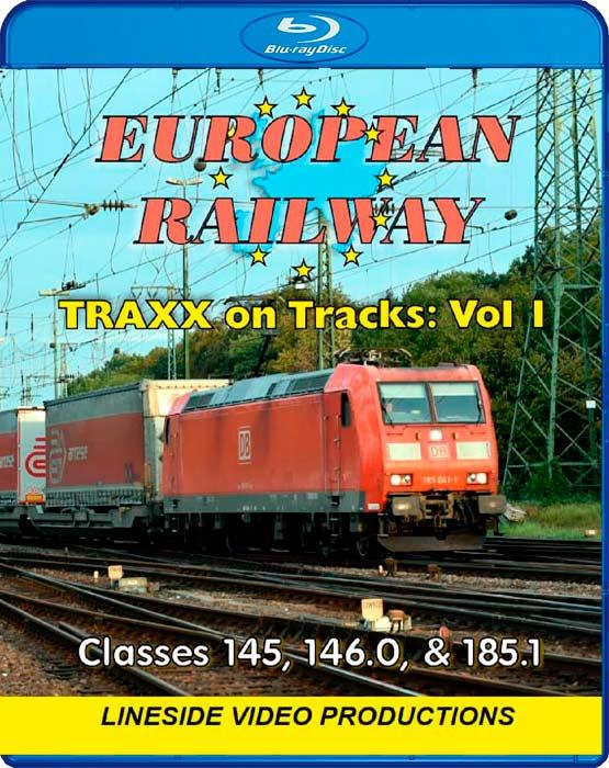 European Railway - TRAXX on Tracks - Volume 1 - Classes 145, 146.0 and 185.1 - Blu-ray