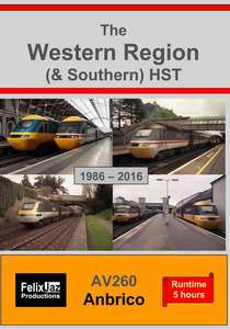 The Western Region - and Southern - High Speed Train 1986-2016 - 4 Disc Set