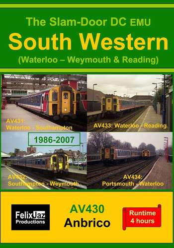 The Slam-door DC EMU South Western - Waterloo Weymouth and Reading - 4 Disc Set