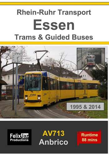 Essen Trams and Guided Buses - 1995 and 2014
