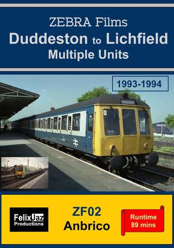 Duddeston to Lichfield Multiple Units