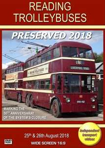 Reading Trolleybuses Preserved 2018