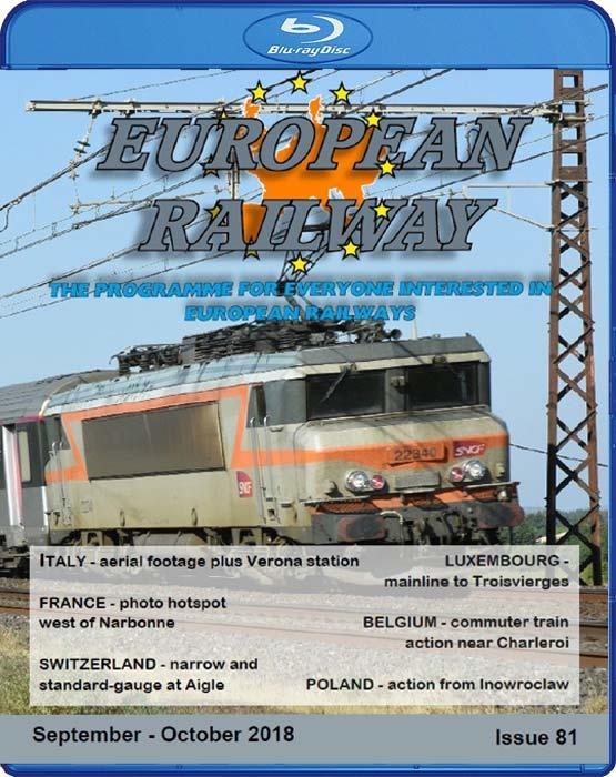 European Railway: Issue 81. Blu-ray
