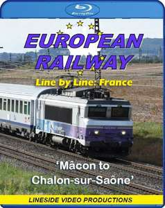 European Railway: Line by Line: France. Blu-ray