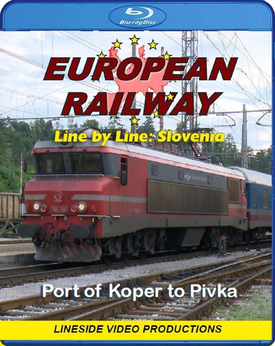 European Railway: Line by Line - Slovenia. Blu-ray