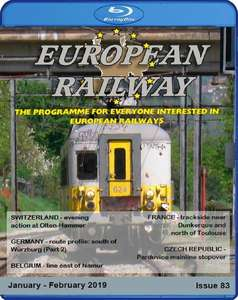European Railway - Issue 83 - Blu-ray