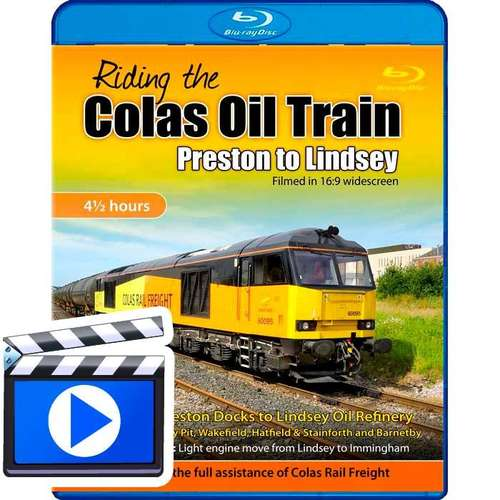 Riding the Colas Oil Train - Preston to Lindsey (1080p HD)