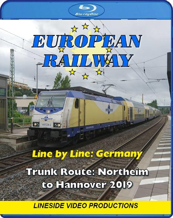 Line by Line: Germany: Northeim to Hannover 2019. Blu-ray