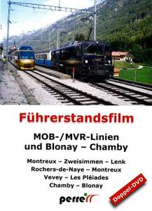 MOB / MVR lines and Blonay - Chamby
