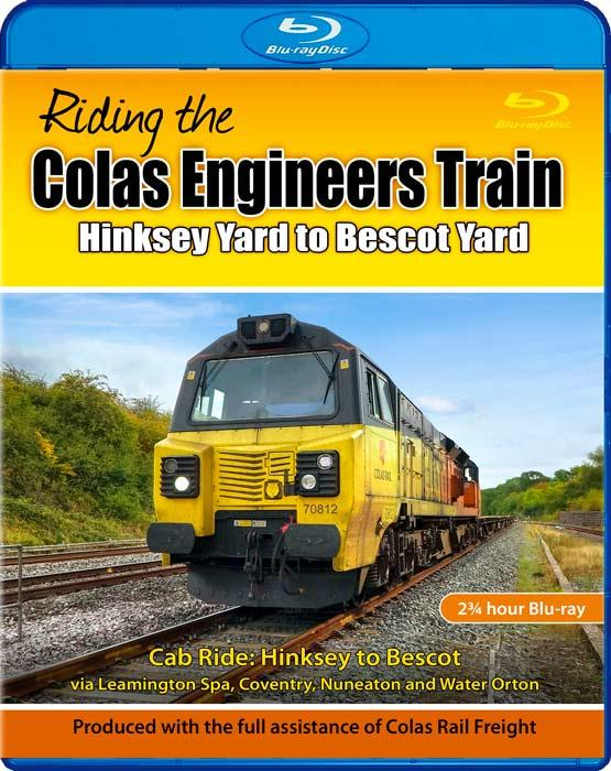 Riding the Colas Engineers Train: Hinksey Yard to Bescot Yard. Blu-ray