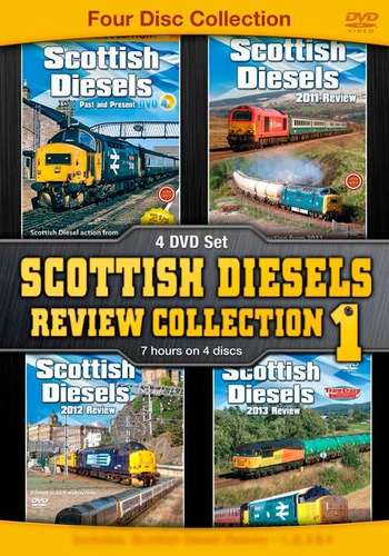 Scottish Diesels Review Collection No.1