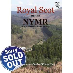 Royal Scot on the NYMR  - North Yorkshire Moors Railway