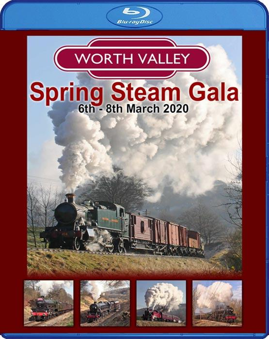 The Keighley & Worth Valley Railway Spring Steam Gala 2020. Blu-ray