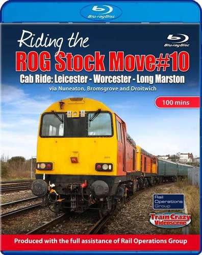 Riding the ROG Stock Move #10 - Cab Ride. Blu-ray