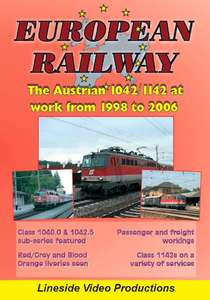 european railway the austrian class 1042-1142 in action 1998 to 2006