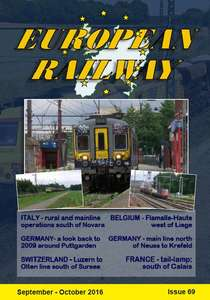 European Railway - Issue 69 - September - October 2016