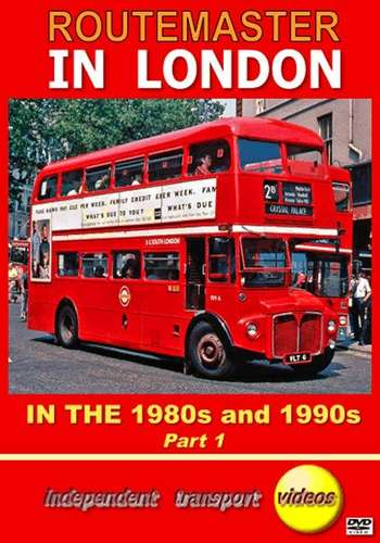 Routemaster in London in the 1980s and 1990s - Part 1