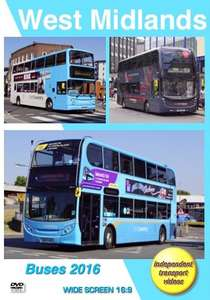 West Midlands Buses 2016