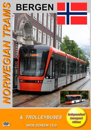 Norwegian Trams and Trolleybuses - Bergen