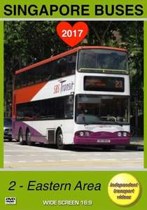 Singapore Buses 2017 - 2 - Eastern Area