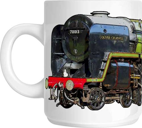 The Steam Mug Collection No3 - 70013 Oliver Cromwell