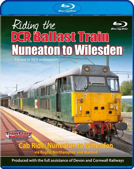 Riding the DCR Ballast Train - Nuneaton to Willesden - Blu-ray