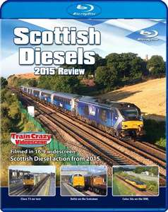 Scottish Diesels 2015 Review - Blu-ray