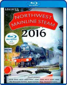 Northwest Mainline Steam 2016 - Blu-ray