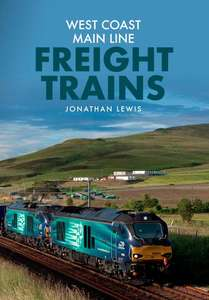West Coast Main Line Freight Trains - Book