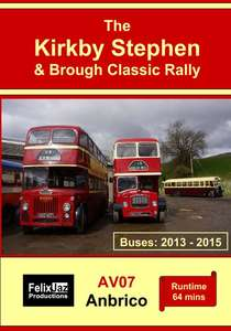 The Kirkby Stephen and Brough Classic Rally - Buses - 2013-2015
