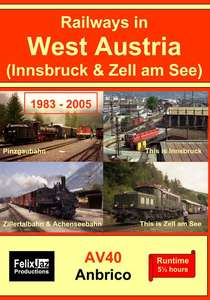 Railways in West Austria 1983 - 2005