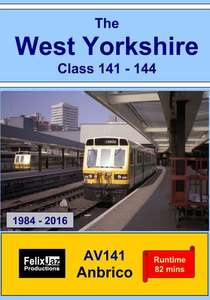 The West Yorkshire Class 141 - 144, 1984 - 2016