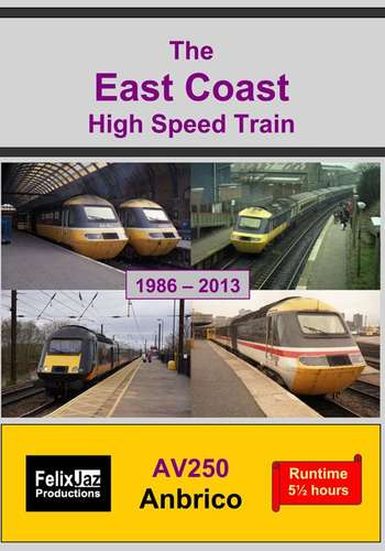 The East Coast High Speed Train - 4 Disc Set
