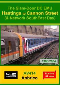 The Slam-door DC EMU Hastings - Cannon Street and Network SouthEast Day 1986 - 2004