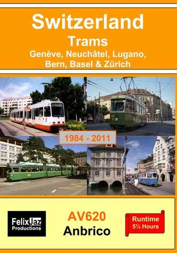 Switzerland Trams -1984 - 2011