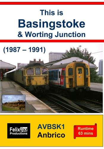 This is Basingstoke and Worting Junction - 1987 - 1991