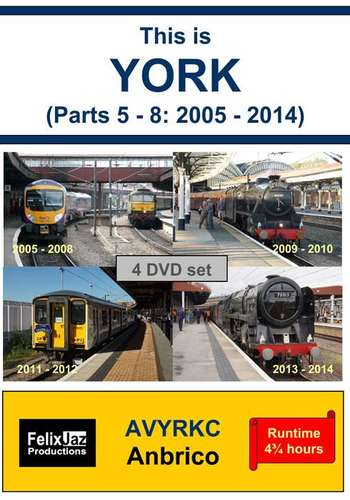 This is York - Parts 5 - 8 - 2005 - 2014  - 4 Disc Set