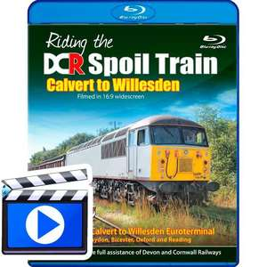 Riding the DCR Spoil Train - Calvert to Willesden (1080p HD)