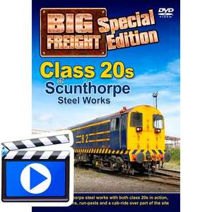 Class 20s at Scunthorpe Steel Works - Big Freight Special Edition