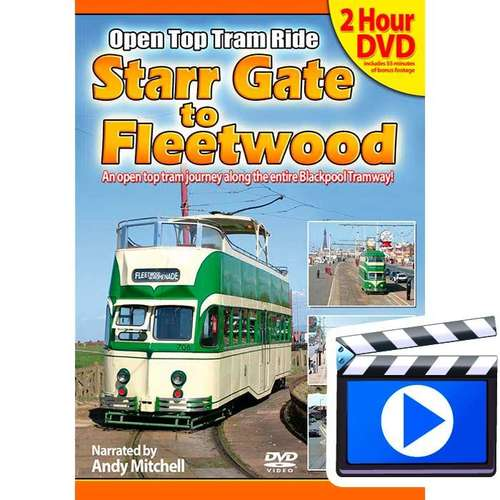 Starr Gate to Fleetwood: Open Top Blackpool Tram Ride